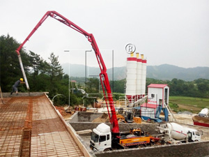V Series Concrete Complete Equipment