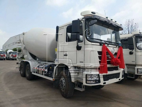 12m3 mxier truck with SHACMAN Chassis