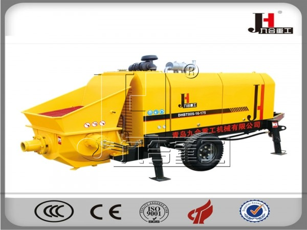 China factory trailer electric diesel 60m3 80m3 90m3 100m3 concrete pumps