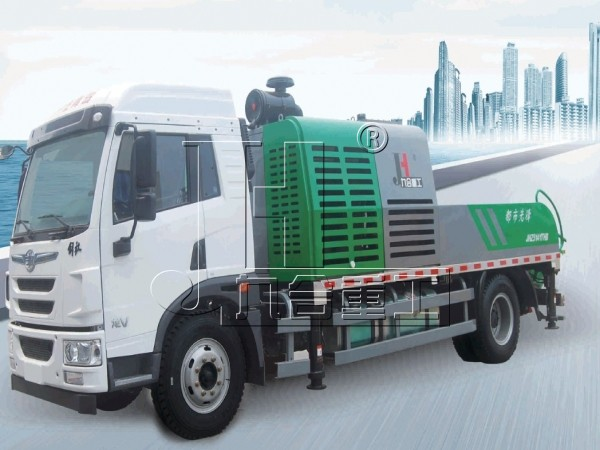 100cubic meter truck-mounted concrete pump