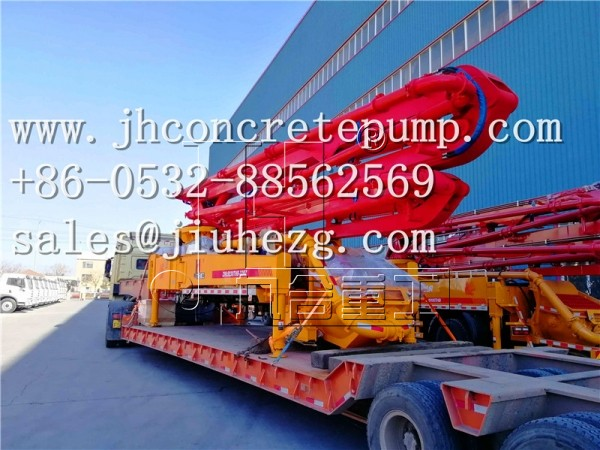 25m 27m 29m 32m 38m concrete boom pump without truck