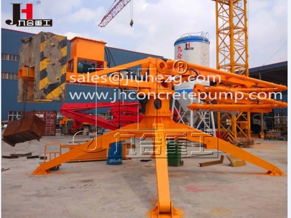 HGY25 mobile concrete placing boom