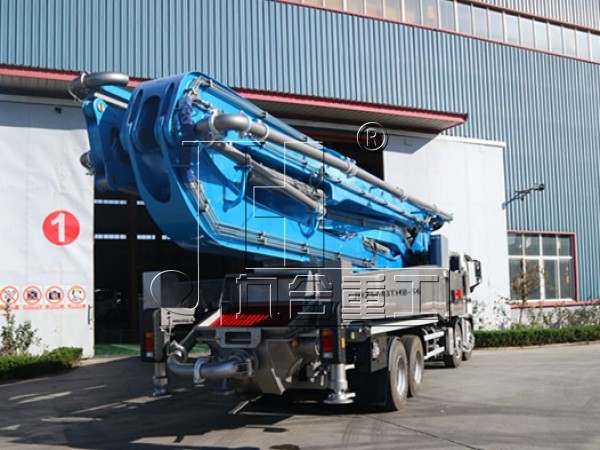 56m mobile concrete pumps