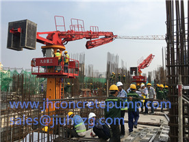 HG32 concrete placing boom at vietnam
