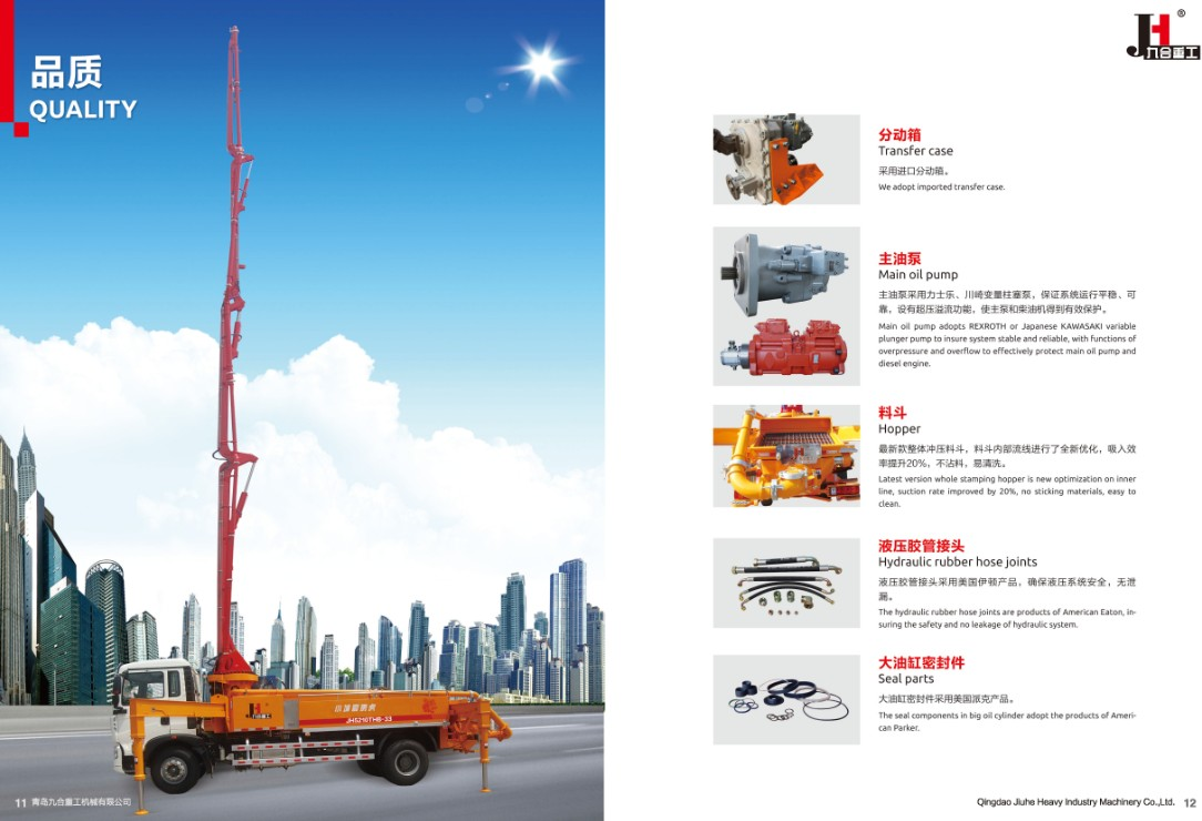 Qingdao JIUHE Heavy Industry Machinery Co., Ltd. | JIUHE CMS